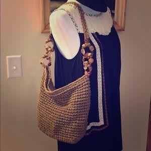 Capelli strawworld purse